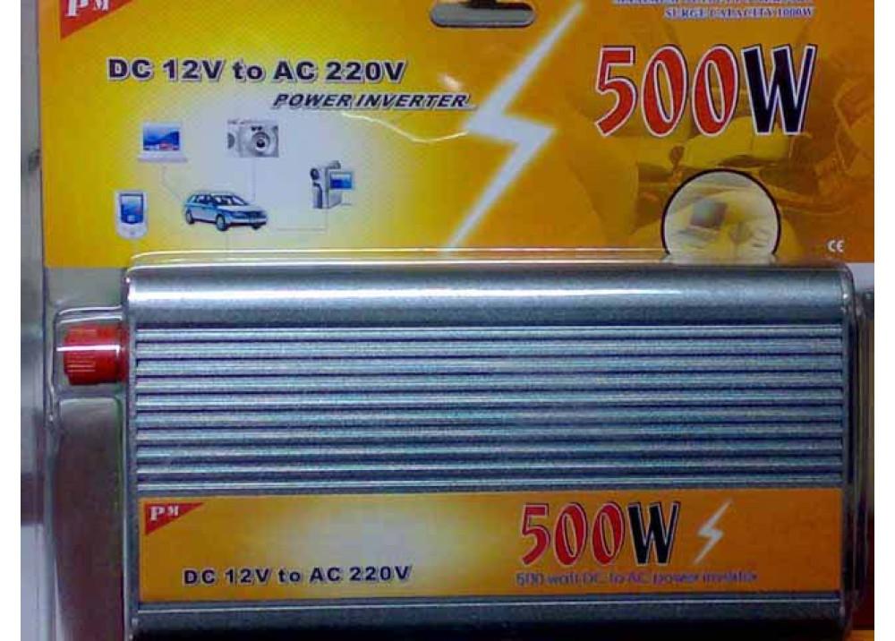 INVERTER DC12V AC220V 500W
