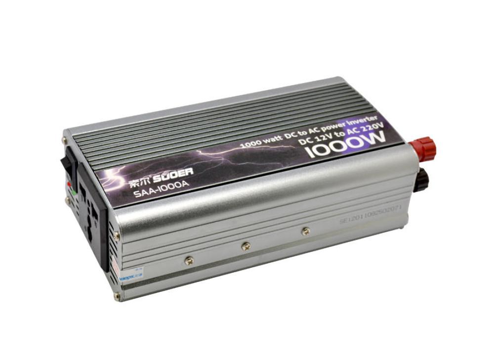 INVERTER SUOER SAA-1000A DC12V AC220V 1000W