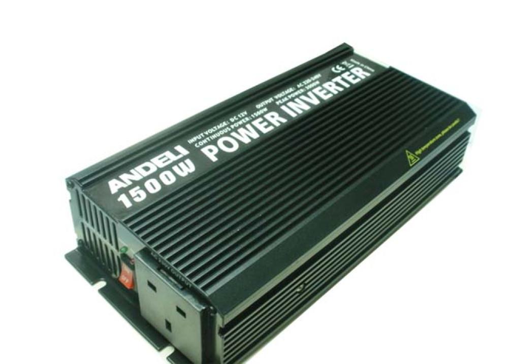INVERTER ANDELI DC12V~ AC220V 1500W