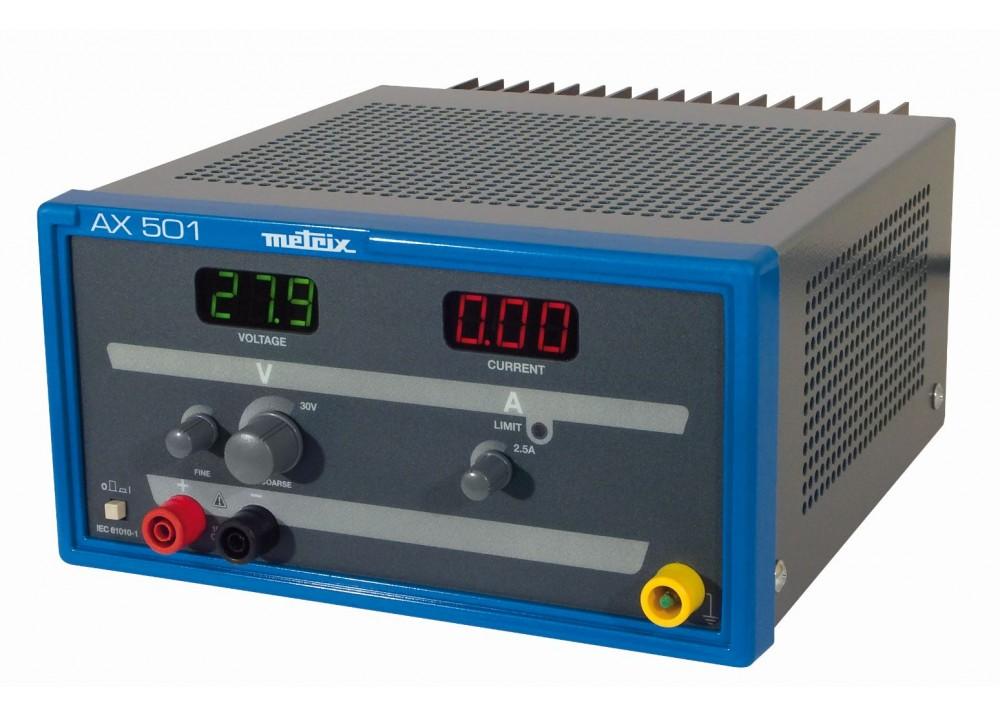 METRIX POWER SUPPLY 30VDC 2.5A  AX501