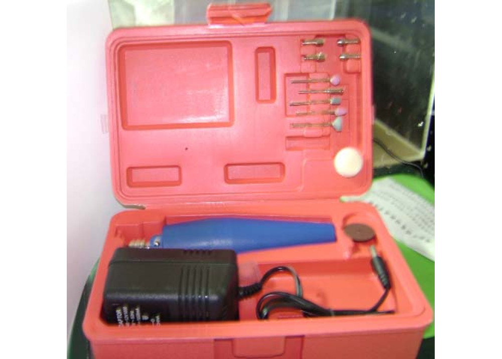 DRILL WITHE RED CASE