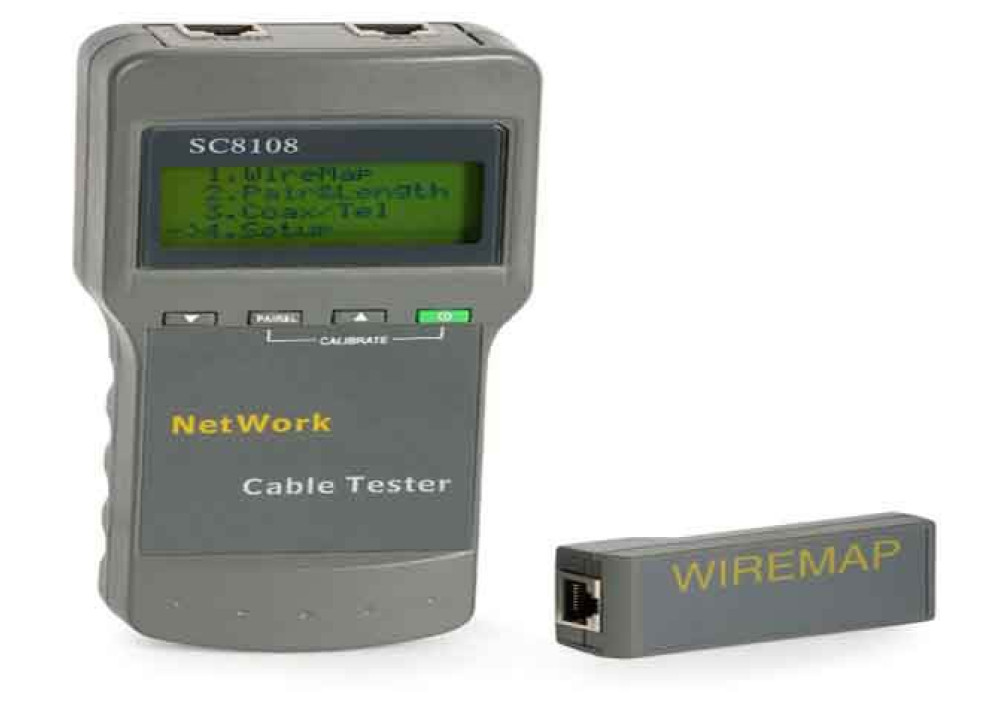 SC8108 CABLE TESTER DIGITAL
