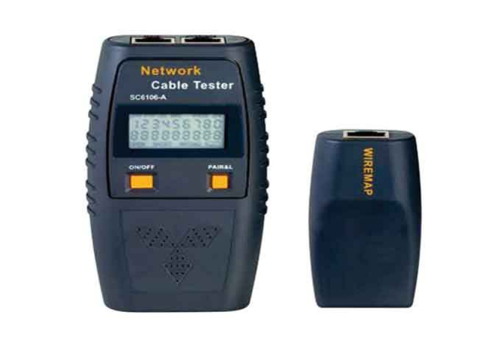 SC6106 CABLE TESTER DIGITAL