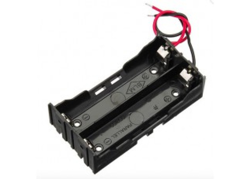 Battery holder without DC connector 2x18650 2xASize  Lithium-ion