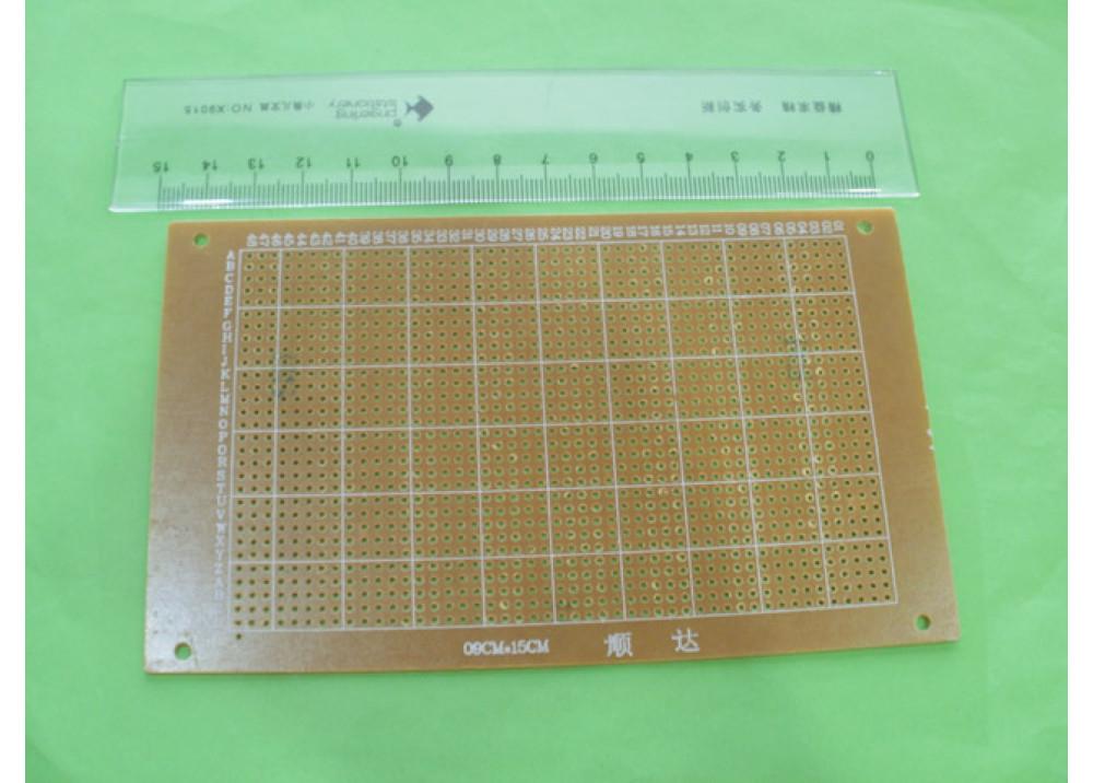 DIY Prototype Paper Prototype PCB 9X15cm