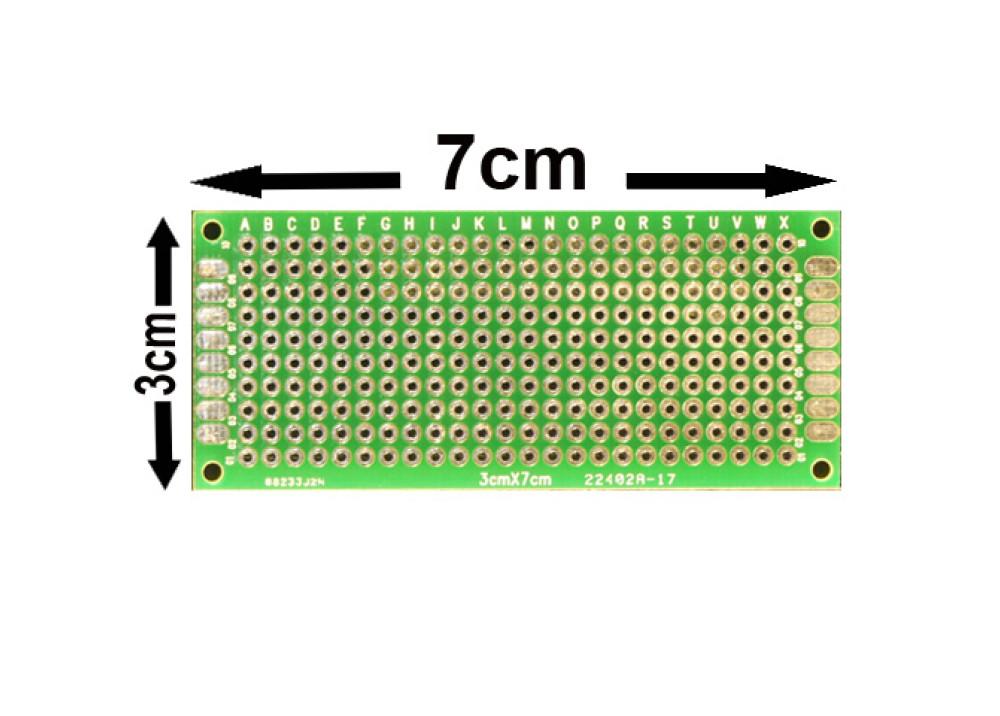 Double Side Prototype PCB Universal 3X7cm