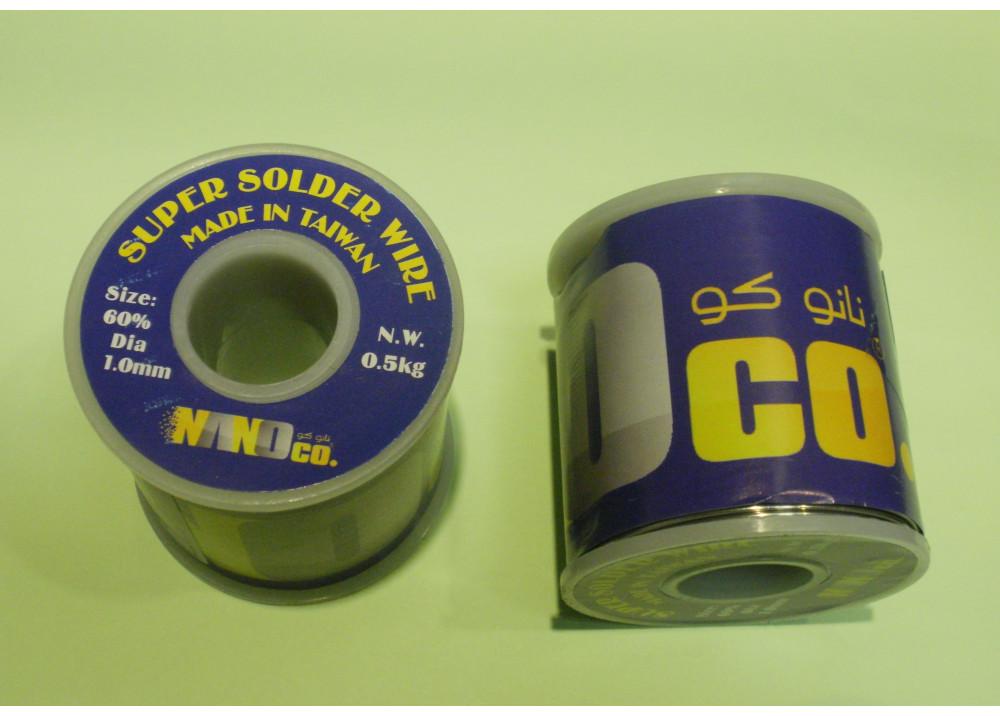 SUPER SOLDER 60% 1mm  500G