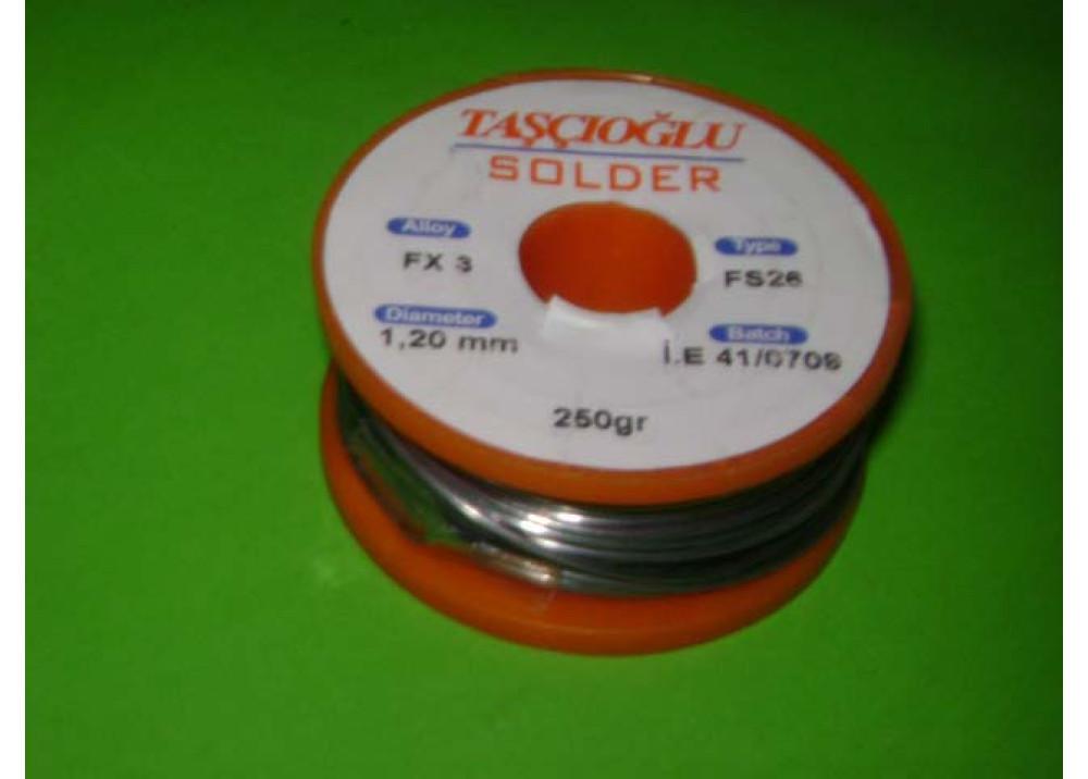 SOLDER GASCIOGLU 1.2mm 40% 250G