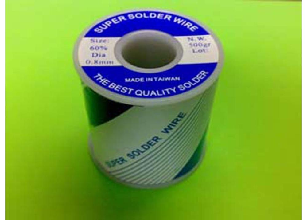 SUPER SOLDER 60% 0.8mm  500G