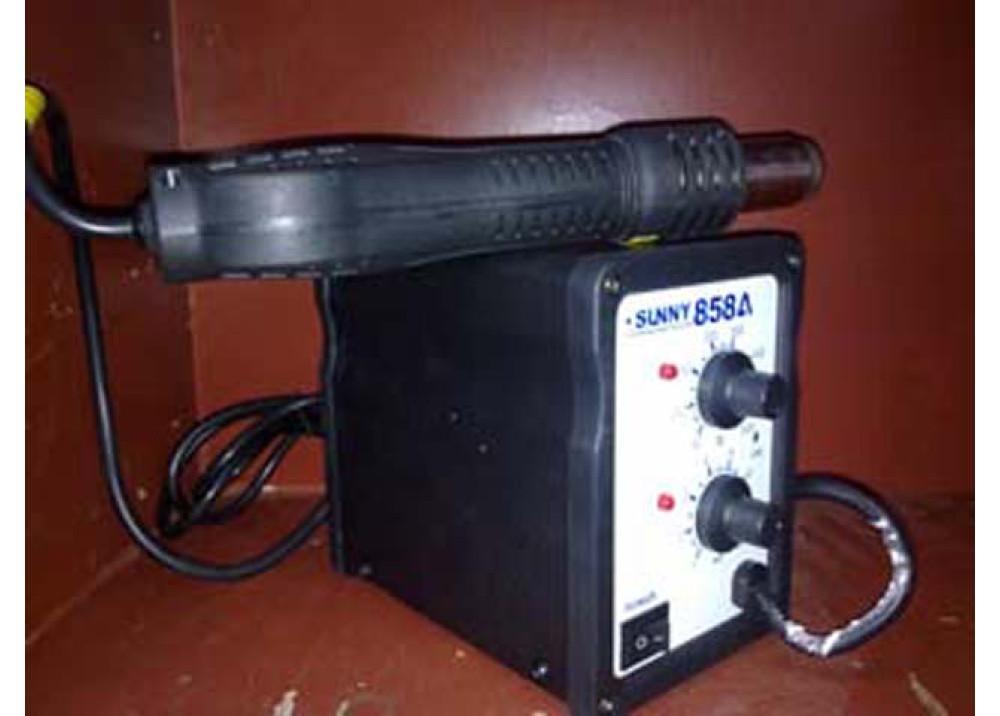 Brushless Fan SMD Rework System SUNNY858