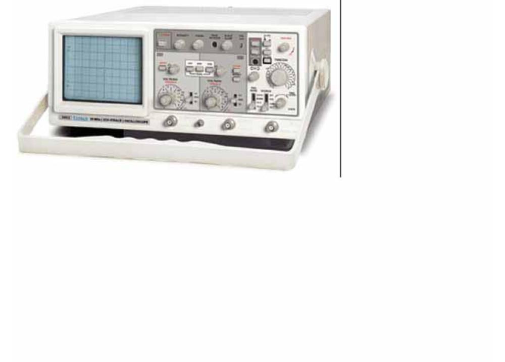 Crotech - 25MHZ Four Trace Oscilloscope
