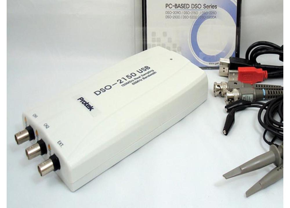 DSO-21500 USB 60MHZ Hantek Digital Storage Oscilloscop