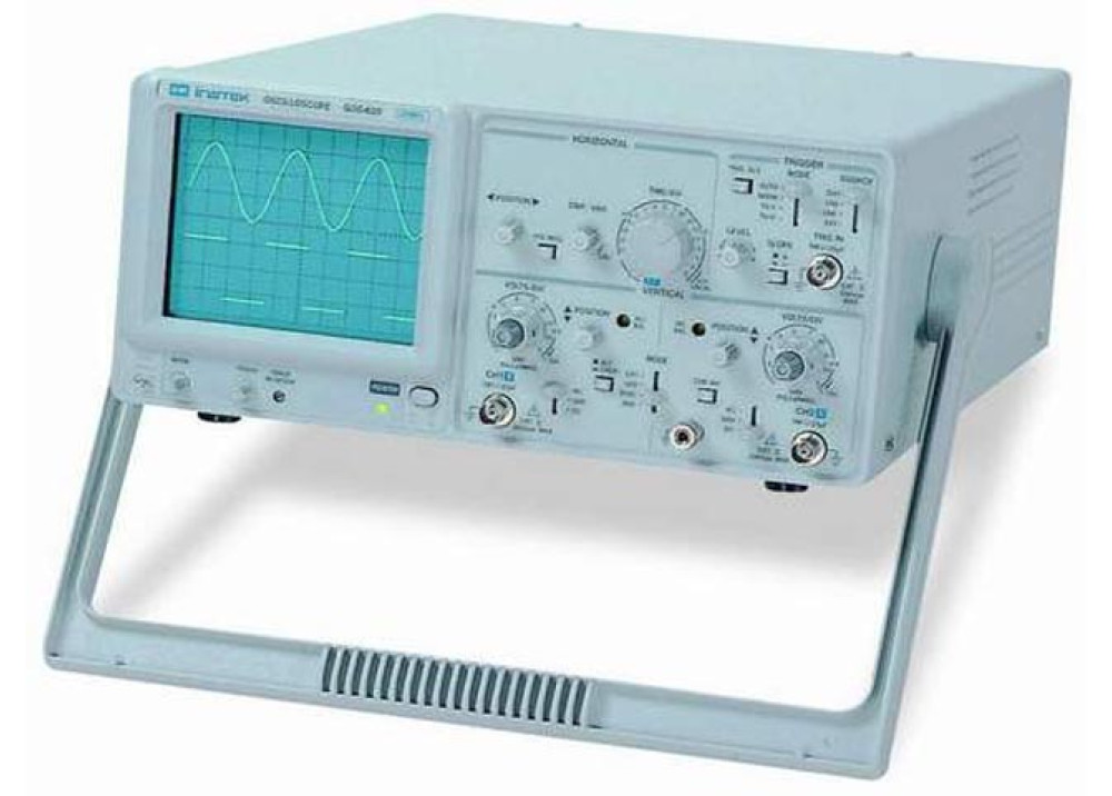 Instek GOS-620 20MHZ Triggering Oscilloscope