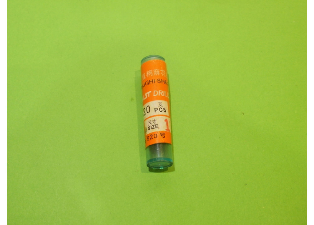 DRIL BIT 1mm 20Pcs