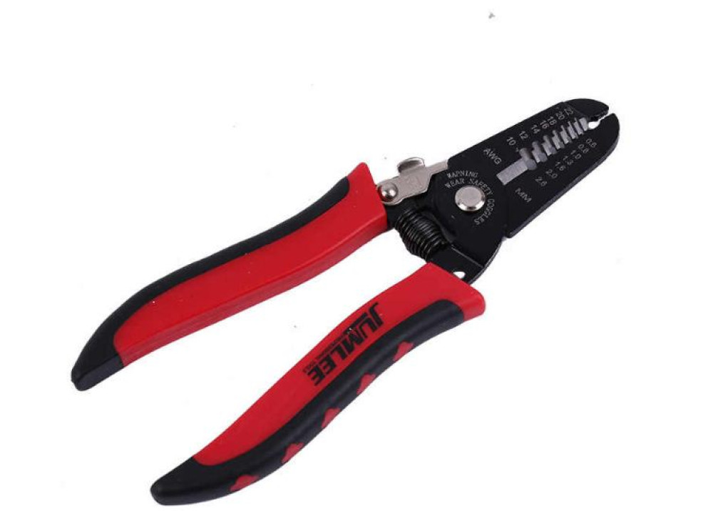 Wire Stripping Tool Cable Cutter Paring Pliers Repair Tools JUMLEE NO:1663