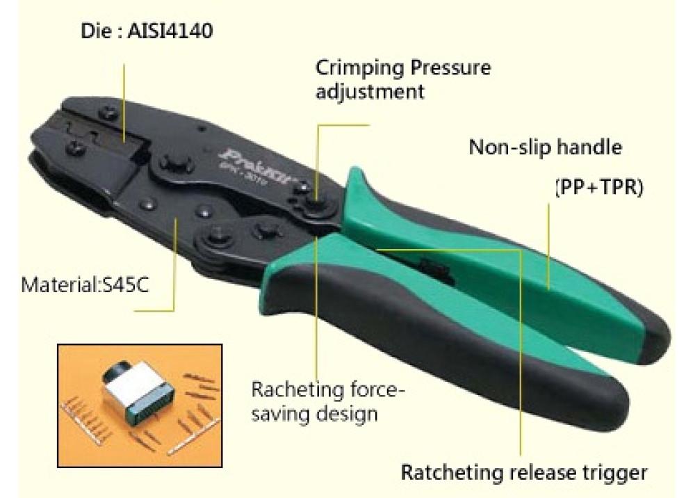 Proskit 6PK-301U CRAMPING