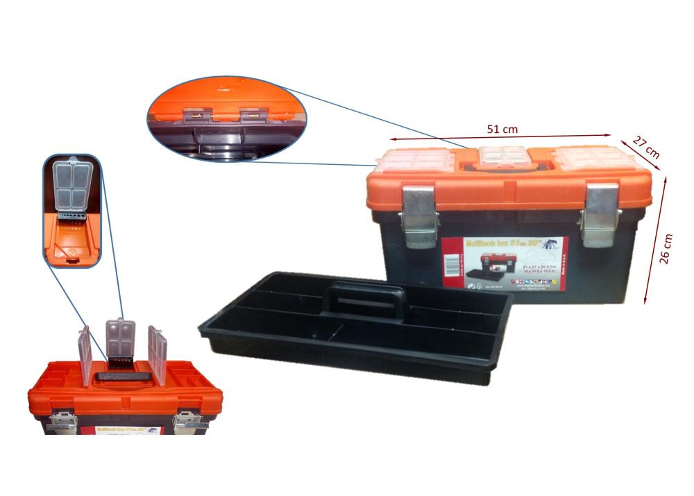TOOL BOX MP0023W 51x26x27cm