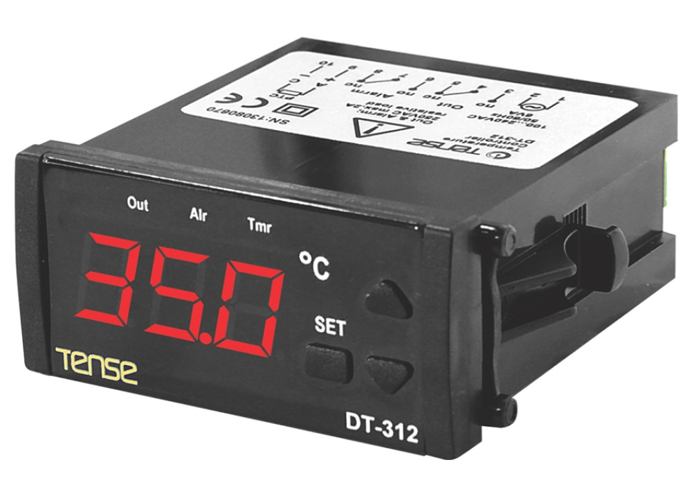 ON/OFF TEMPERATURE CONTROLLER Tense DT-312-24VDC