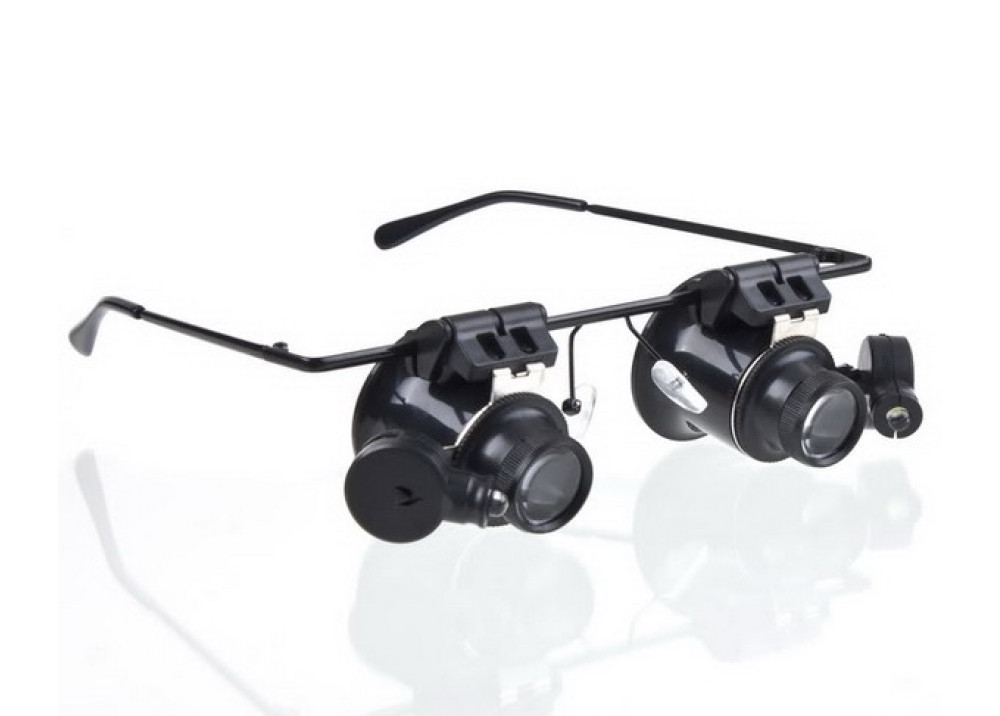 Double Eye Glasses Type 20X Watch Repair Magnifier NO.9892A-II