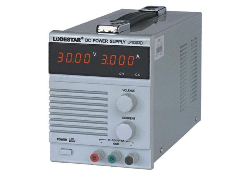 LODESTAR LPS303D 30V 3A POWER SUPPLY