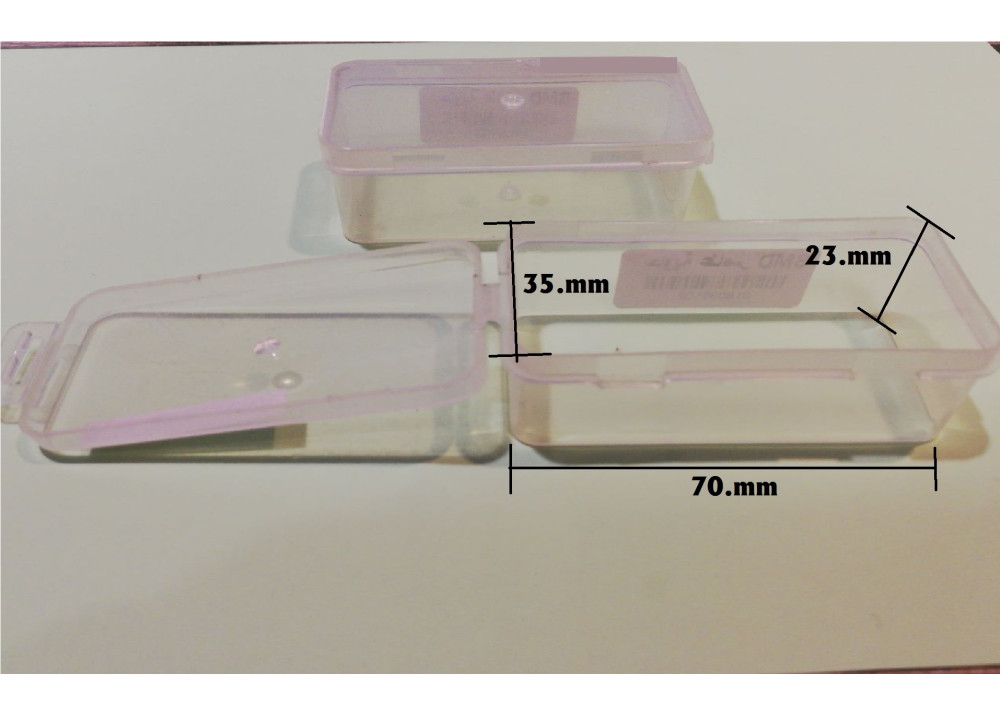 Plastic Container For  SMD