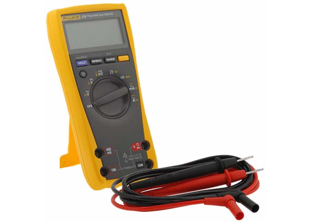 FLUK 179 True RMS Multimeter+Temperature
