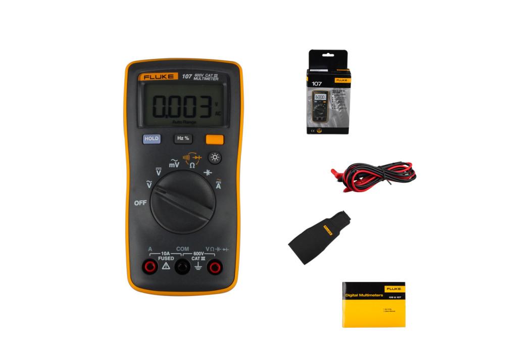 Fluke107 Palm-sized Digital Multimeter