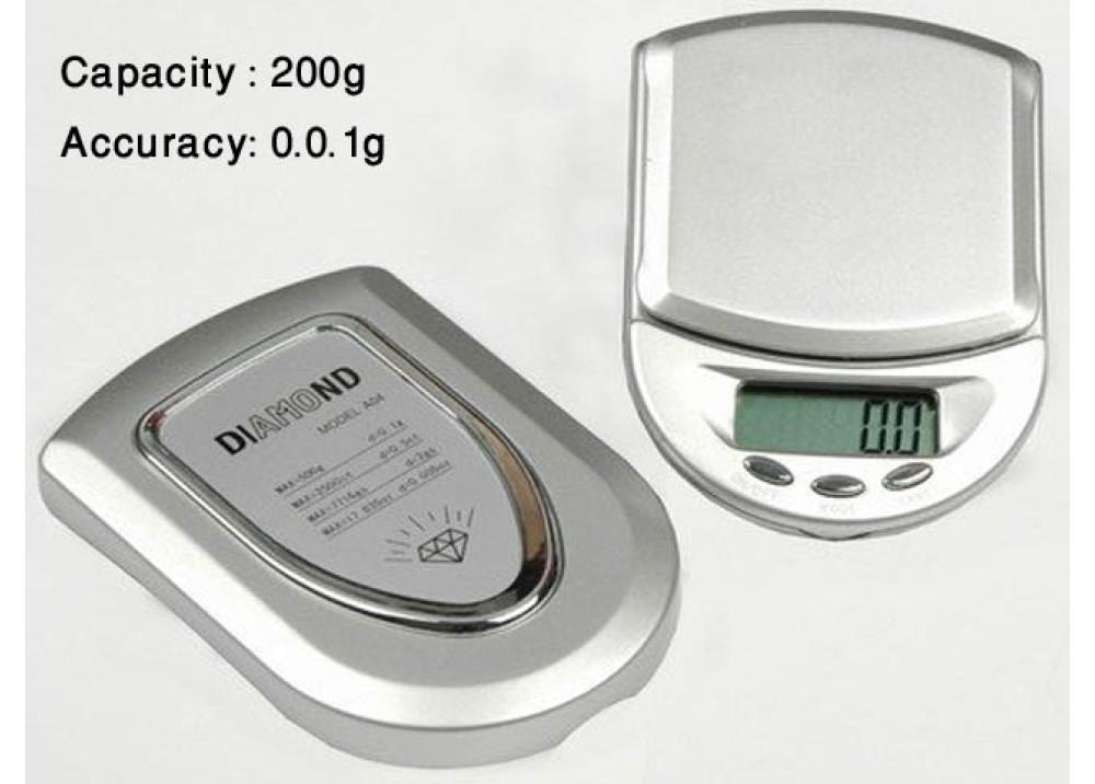 Diamond Electronic Digital Scale 200g 0.01g