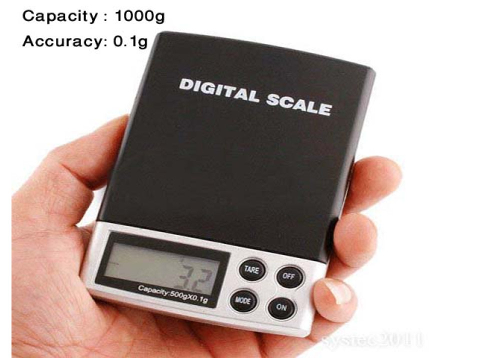 Electronic Digital Scale 1000g 0.1g