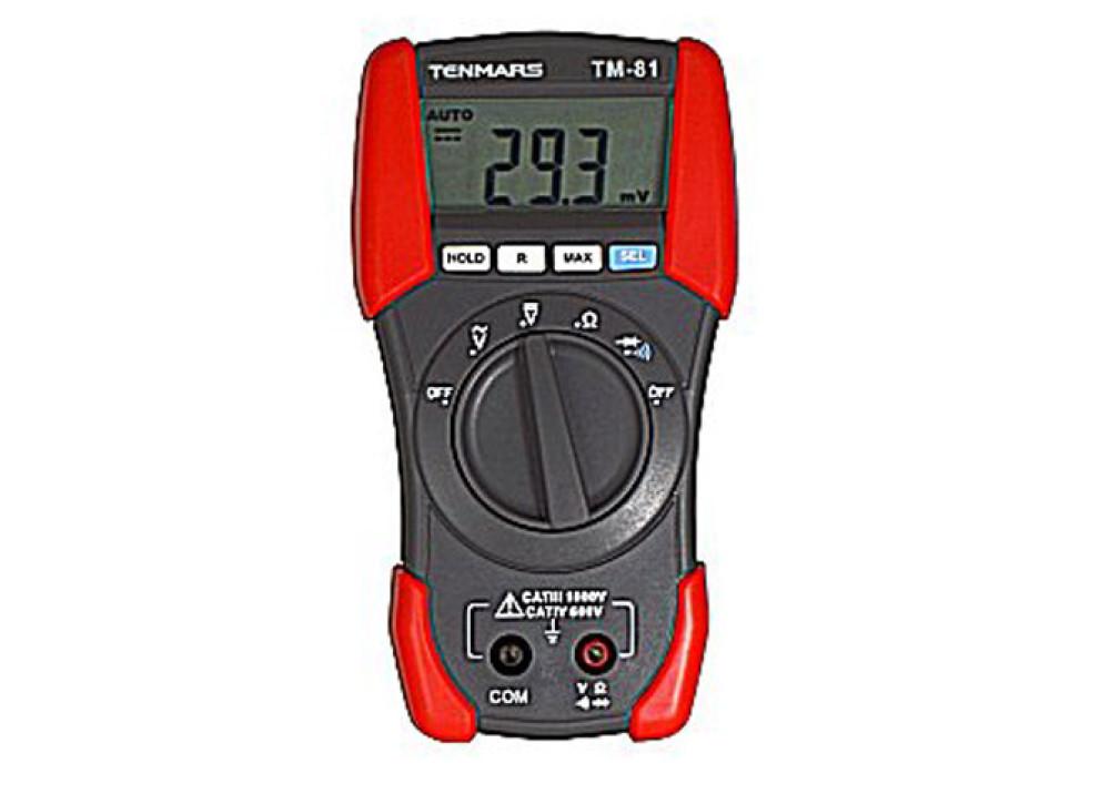 DIGITAL MULTIMETER TENMARS TM81