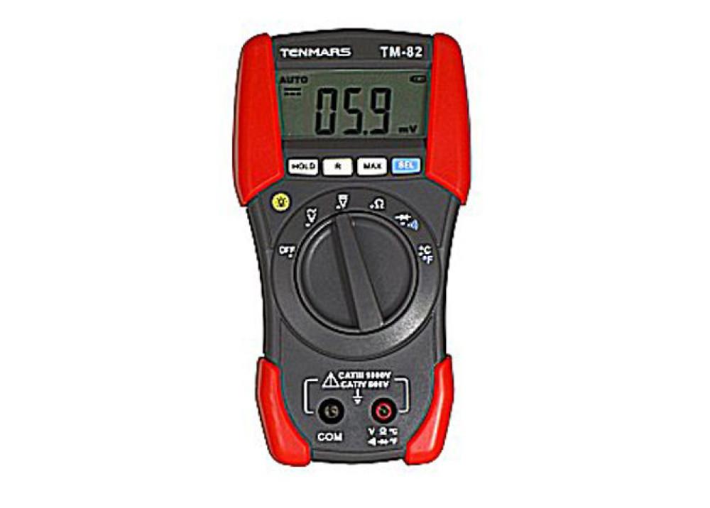 DIGITAL MULTIMETER TENMARS TM82