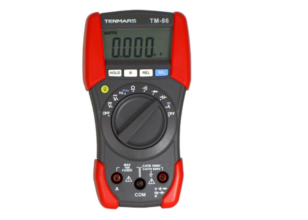 DIGITAL MULTIMETER TENMARS TM86