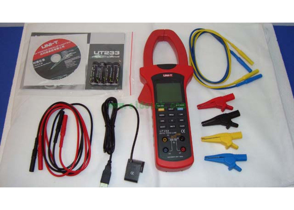 Digital Power Clamp Meters UT233