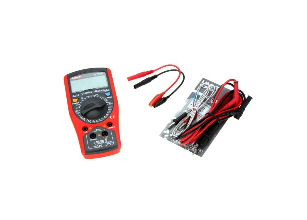 Modern Digital Multimeters UT50D