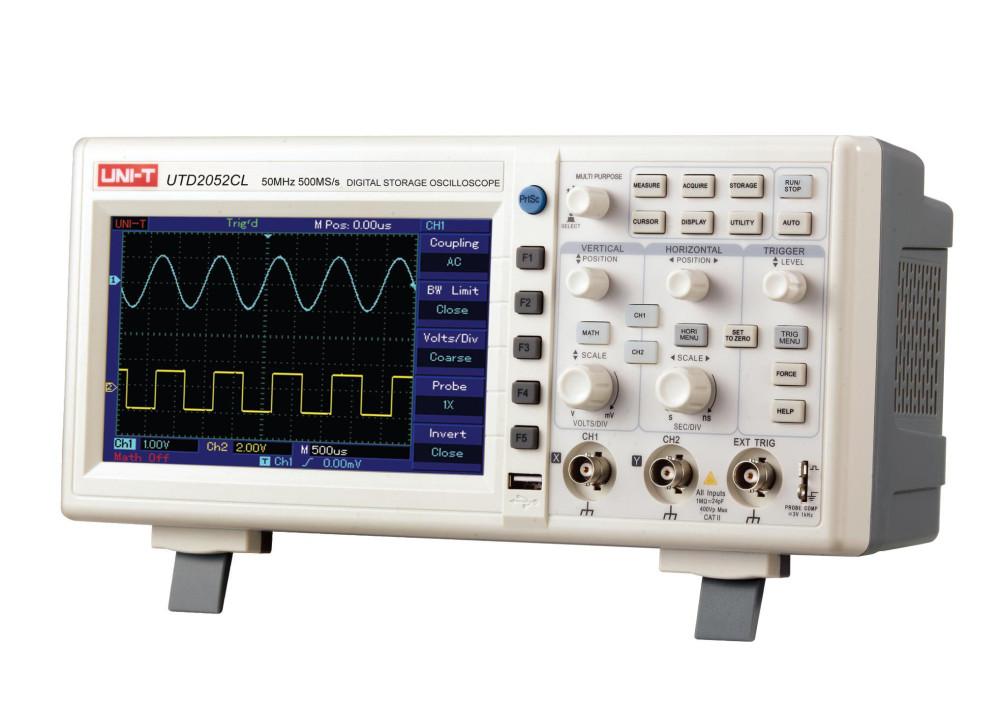 UNI-T Oscilloscope UTD2052CL 50MHZ