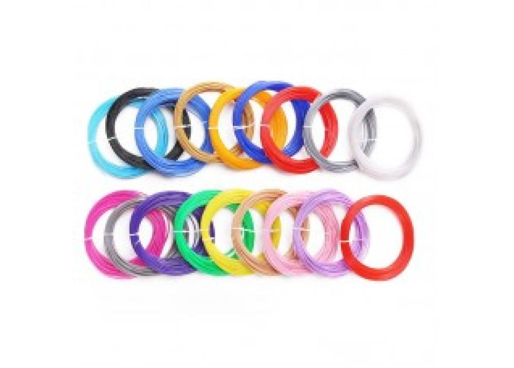 Filament 3D PLA 1.75mm 10M 12 Color