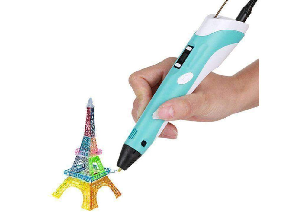 3D Printer Pen With LCD Display