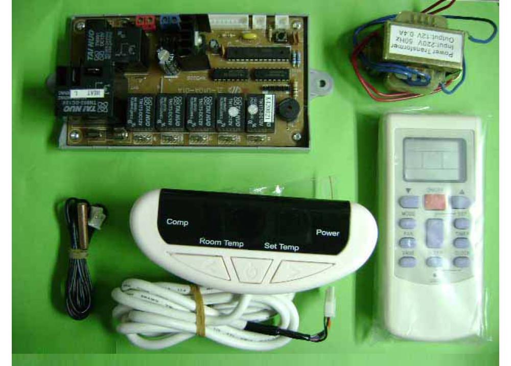 AC REMOTE CONTROL ZL-U10A LCD