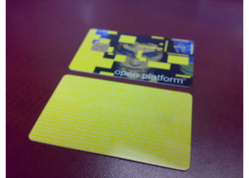 SMART CARD GOLDEN CARD OPEN PLATFORM Used