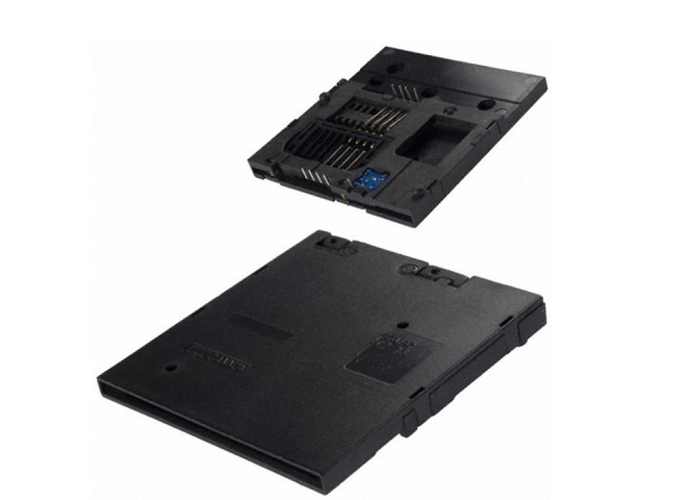 CONN SMART CARD 8PIN PCB CCM02-1NO-35