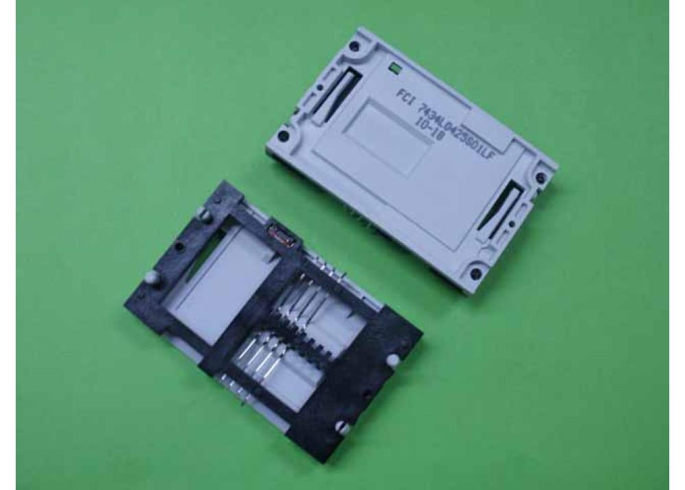 SMART CARD SOCKET FCI 7434L0425S01LF