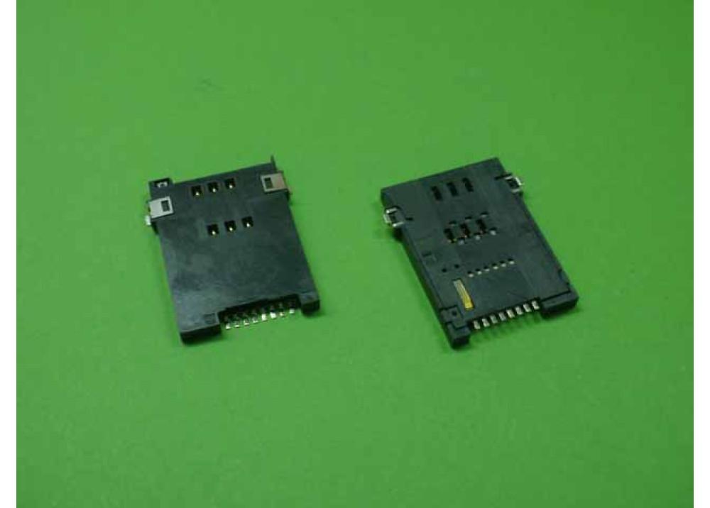 SMD SIM CARD SOCKET 8P