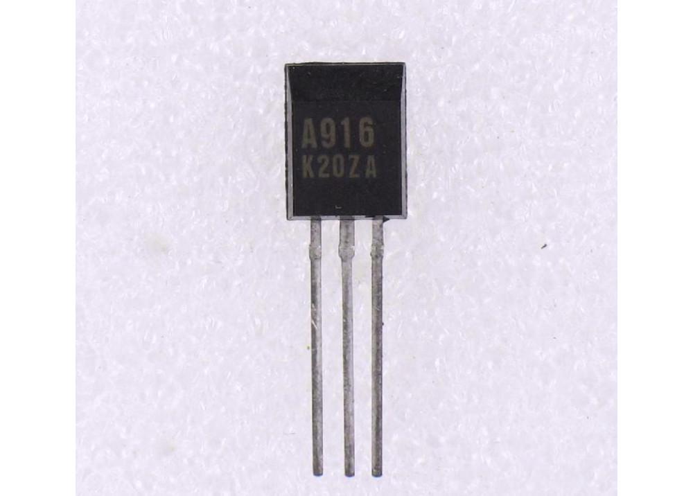 2SA916 PNP 160V 50mA 800mW TO-92L