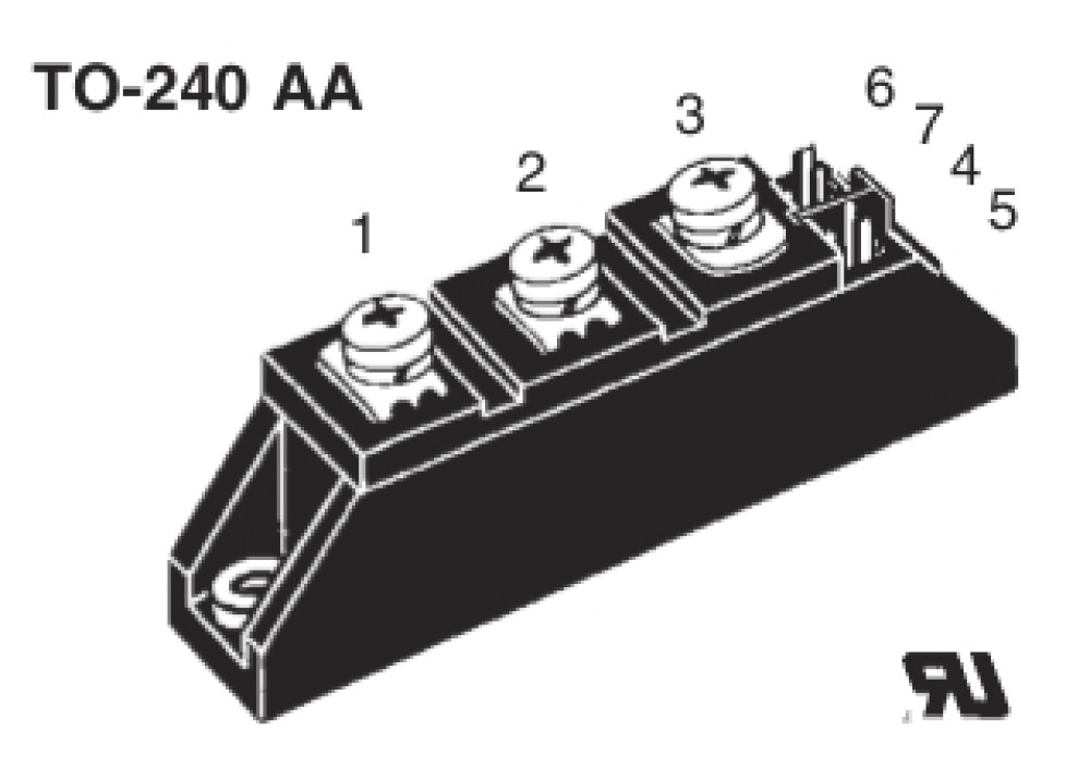 DIODE MODULE SKKD50E02  50A 200V TO-240AA
