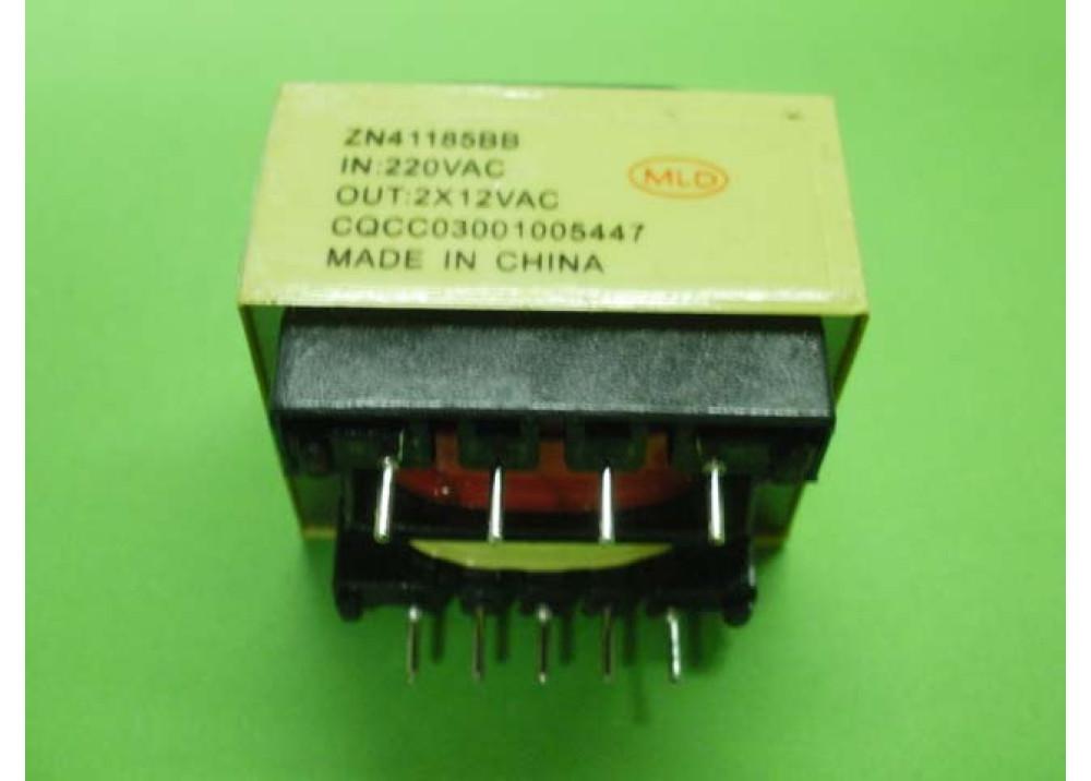 TRANSFORMER 4VA 12VX2 300MA PCB