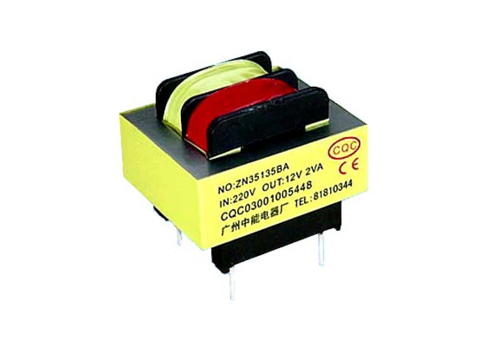 TRANSFORMER 4.5VA 12VX2 375MA PCB