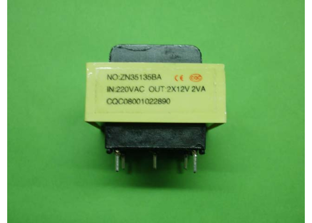 TRANSFORMER 2VA 12VX2 160MA PCB