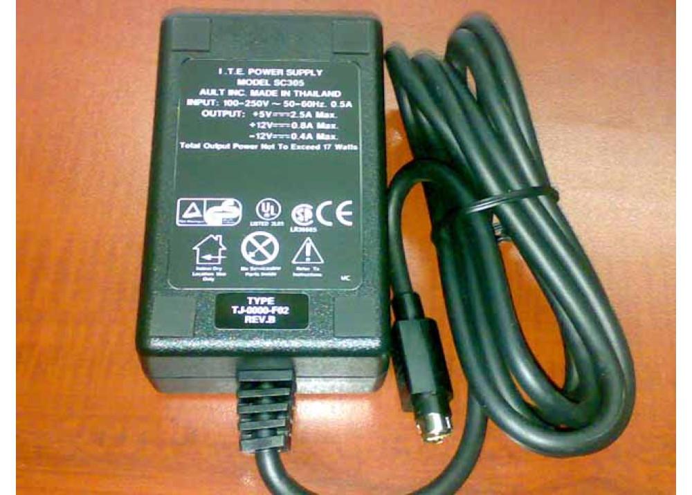 ADPTER SC 305 5V 2.5A 12V 0.8A -12V 0.4A