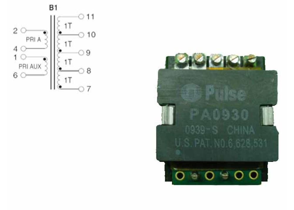 TRANSFORMERS PA0930 Audio Transformers / Signal Transformers XRMR 4TP:4TS PRISM