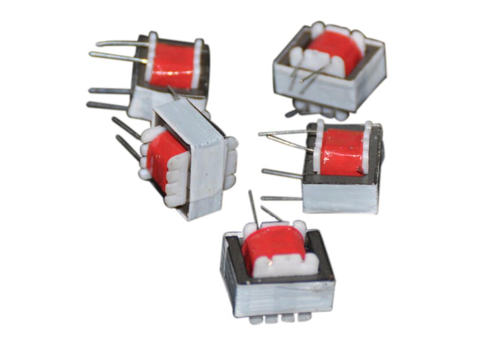 Audio Transformers 125:4 Ohm EI14 Isolation Red Output